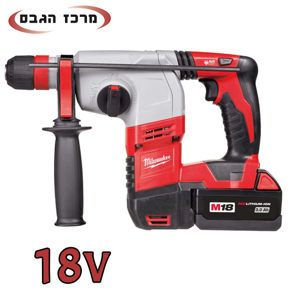 פטישון נטען 18V HD18HX מבית מילווקי Milwaukee פוטר מתחלף!